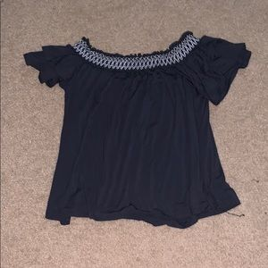 cold shoulder shirt